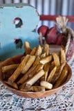 Τηγανιτές πατάτες χώρας Στοκ Εικόνα