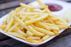 Τηγανιτές πατάτες Στοκ φωτογραφίες με δικαίωμα ελεύθερης χρήσης
