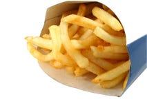 τηγανιτές πατάτες Στοκ φωτογραφία με δικαίωμα ελεύθερης χρήσης