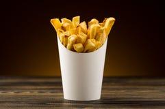 Τηγανιτές πατάτες στοκ εικόνες με δικαίωμα ελεύθερης χρήσης