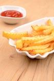 Τηγανιτές πατάτες Στοκ Φωτογραφία