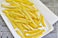 Τηγανιτές πατάτες Στοκ Εικόνες