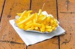 Τηγανιτές πατάτες, Patatas Bravas, Στοκ Φωτογραφίες