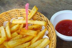 Τηγανιτή πατάτα Στοκ Εικόνα