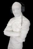 τηλέφωνα ατόμων αυτιών επιδέσμων Στοκ φωτογραφία με δικαίωμα ελεύθερης χρήσης