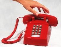 τηλέφωνο έκτακτης ανάγκης Στοκ Εικόνα