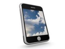 τηλέφωνο έξυπνο απεικόνιση αποθεμάτων