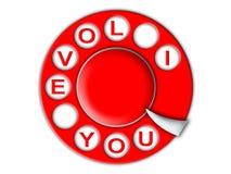τηλέφωνο αγάπης απεικόνιση αποθεμάτων