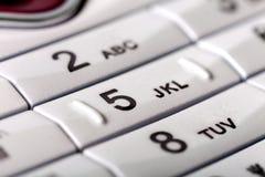 τηλέφωνο αριθμητικών πληκ&ta Στοκ Εικόνα