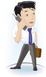 τηλέφωνο ατόμων Στοκ φωτογραφία με δικαίωμα ελεύθερης χρήσης