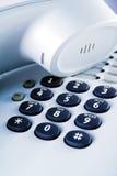 τηλέφωνο γραφείων λεπτομ στοκ φωτογραφία