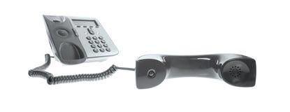 Τηλέφωνο γραφείων - τηλέφωνο IP Στοκ Φωτογραφία