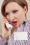 τηλέφωνο διευθυντών στοκ φωτογραφία με δικαίωμα ελεύθερης χρήσης