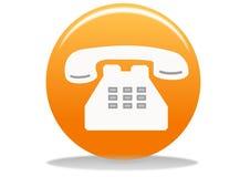 τηλέφωνο εικονιδίων Στοκ Εικόνα