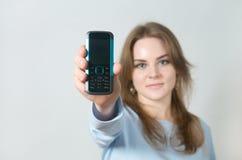 τηλέφωνο εκμετάλλευση&sig Στοκ εικόνες με δικαίωμα ελεύθερης χρήσης