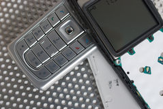 τηλέφωνο επισκευής της Mobil Στοκ εικόνα με δικαίωμα ελεύθερης χρήσης