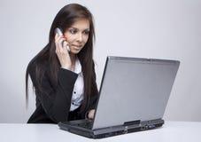 τηλέφωνο επιχειρηματιών Στοκ Φωτογραφία