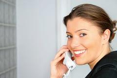 τηλέφωνο επιχειρηματιών Στοκ Εικόνες