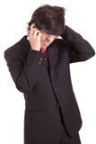 τηλέφωνο επιχειρησιακών ατόμων Στοκ εικόνες με δικαίωμα ελεύθερης χρήσης