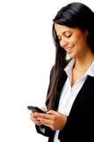 τηλέφωνο επιχειρησιακών μηνυμάτων Στοκ Εικόνες