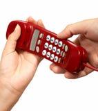 τηλέφωνο κλήσης στοκ εικόνες με δικαίωμα ελεύθερης χρήσης