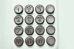 τηλέφωνο κουμπιών Στοκ εικόνες με δικαίωμα ελεύθερης χρήσης