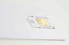 τηλέφωνο κυττάρων καρτών Στοκ Φωτογραφία
