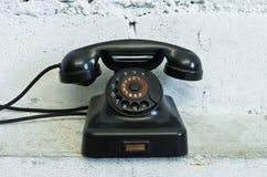 Τηλέφωνο με τον περιστροφικό πίνακα Στοκ φωτογραφία με δικαίωμα ελεύθερης χρήσης