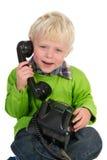 τηλέφωνο παιδιών Στοκ Εικόνες