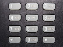 τηλέφωνο πληκτρολογίων στοκ εικόνες