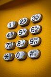 τηλέφωνο πληκτρολογίων Στοκ εικόνα με δικαίωμα ελεύθερης χρήσης