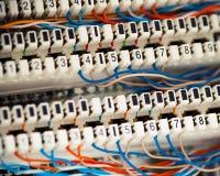 τηλέφωνο τηλεφωνικών κέντρ& Στοκ Εικόνες