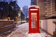 τηλέφωνο του Λονδίνου θαλάμων Στοκ Εικόνες