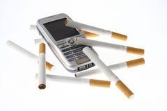 τηλέφωνο τσιγάρων κυττάρω&nu Στοκ εικόνες με δικαίωμα ελεύθερης χρήσης