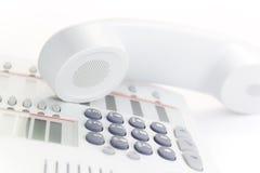 τηλέφωνο υπολογιστών γρ&al Στοκ Φωτογραφία