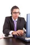 τηλέφωνο χειριστών Στοκ εικόνα με δικαίωμα ελεύθερης χρήσης
