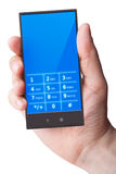 τηλέφωνο χεριών κυττάρων Στοκ εικόνες με δικαίωμα ελεύθερης χρήσης