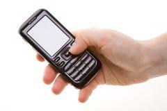 τηλέφωνο χεριών κυττάρων Στοκ Φωτογραφίες