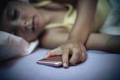 τηλέφωνο χεριών στοκ φωτογραφία