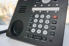 Τηλέφωνο IP με το αριθμητικό αριθμητικό πληκτρολόγιο Στοκ φωτογραφία με δικαίωμα ελεύθερης χρήσης