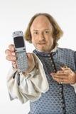 τηλέφωνο Shakespeare κυττάρων Στοκ φωτογραφίες με δικαίωμα ελεύθερης χρήσης
