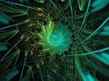 τηλεγραφημένα πράσινα διανυσματική απεικόνιση
