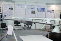 Τηλεκατευθυνόμενα αεροσκάφη αναγνώρισης στην έκθεση Στοκ Φωτογραφίες