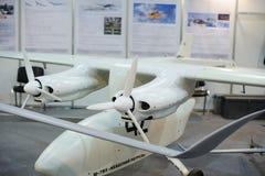 Τηλεκατευθυνόμενα αεροσκάφη αναγνώρισης στην έκθεση Στοκ εικόνα με δικαίωμα ελεύθερης χρήσης