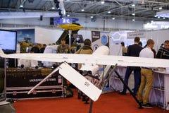 Τηλεκατευθυνόμενα αεροσκάφη αναγνώρισης στην έκθεση Στοκ φωτογραφία με δικαίωμα ελεύθερης χρήσης