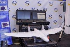 Τηλεκατευθυνόμενα αεροσκάφη αναγνώρισης στην έκθεση Στοκ Εικόνες