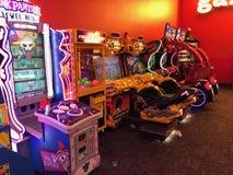 Τηλεοπτικά παιχνίδια Arcade Στοκ Φωτογραφίες