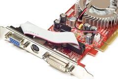 Τηλεοπτική κάρτα υπολογιστών στοκ φωτογραφία με δικαίωμα ελεύθερης χρήσης