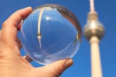 Τηλεοπτικός πύργος του Βερολίνου στοκ φωτογραφία με δικαίωμα ελεύθερης χρήσης