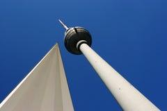 τηλεοπτικός πύργος του &Be Στοκ φωτογραφίες με δικαίωμα ελεύθερης χρήσης